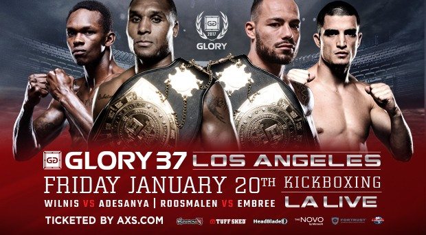 Glory 37 - Fight Card