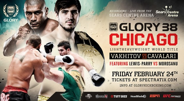 Glory 38 - Fight Card