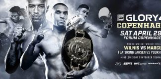 Glory 40 - Fight Card