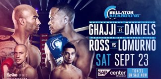 Bellator Kickboxing 7 - Fight Card