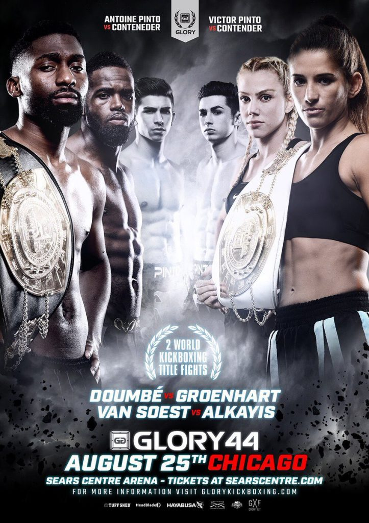 Glory 44 - Fight Card