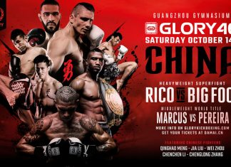 Glory 46 fightcard promo