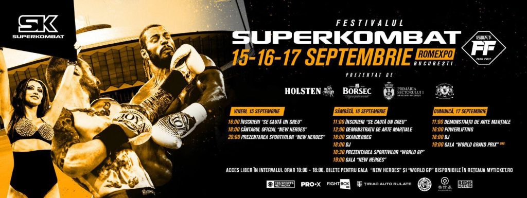 SUPERKOMBAT New Heroes 11-Expo