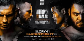 Glory 41 - Fight Card