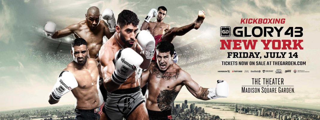 Glory 43 - Fight Card