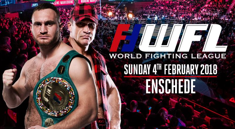 World Fighting League - Enschede promo 1