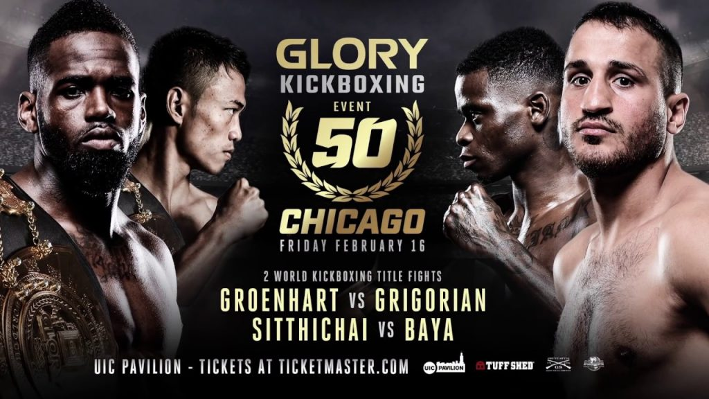 Glory 50 – Fight Card