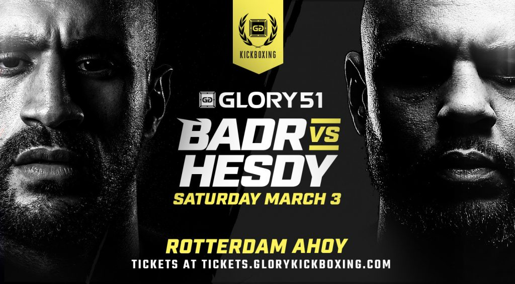 Glory 51 – Fight Card