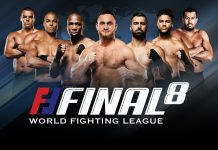 World Fighting League - Final 8 promo 1