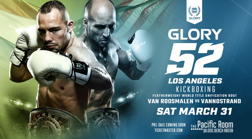Glory 52 – Fight Card