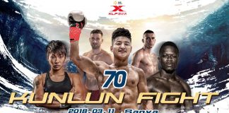 Kunlun Fight 70 - Fight Card