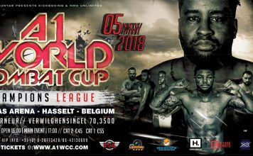 A1WCC Champions League: The Finals - Fight Card
