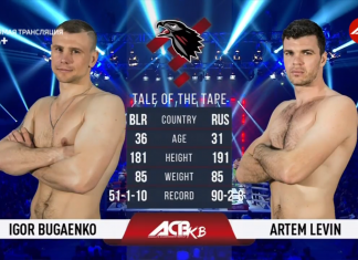 ACB KB-15 - Fight Results