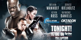 Bellator Kickboxing 1 - Fight Card