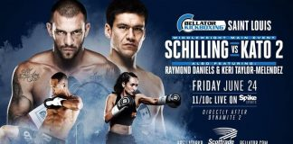Bellator Kickboxing 2 - Fight Card