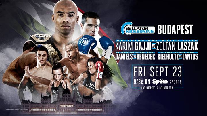 Bellator Kickboxing 3 - Fight Card