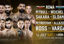 Bellator Kickboxing 10 - Fight Card