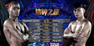 Kunlun Fight 63 - Fight Results