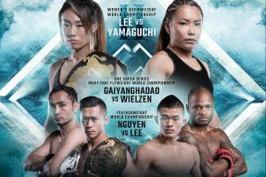 ONE Championship: UNSTOPPABLE DREAMS – Fight Card