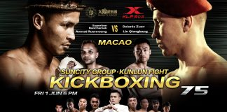 Kunlun Fight Macau - Fight Card