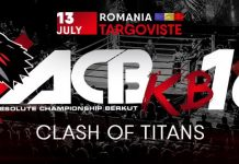 ACB KB-16 - Fight Card