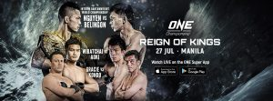 ONE Championship: Reign Of Kings – Fight Card