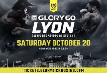 Glory 60 – Fight Card