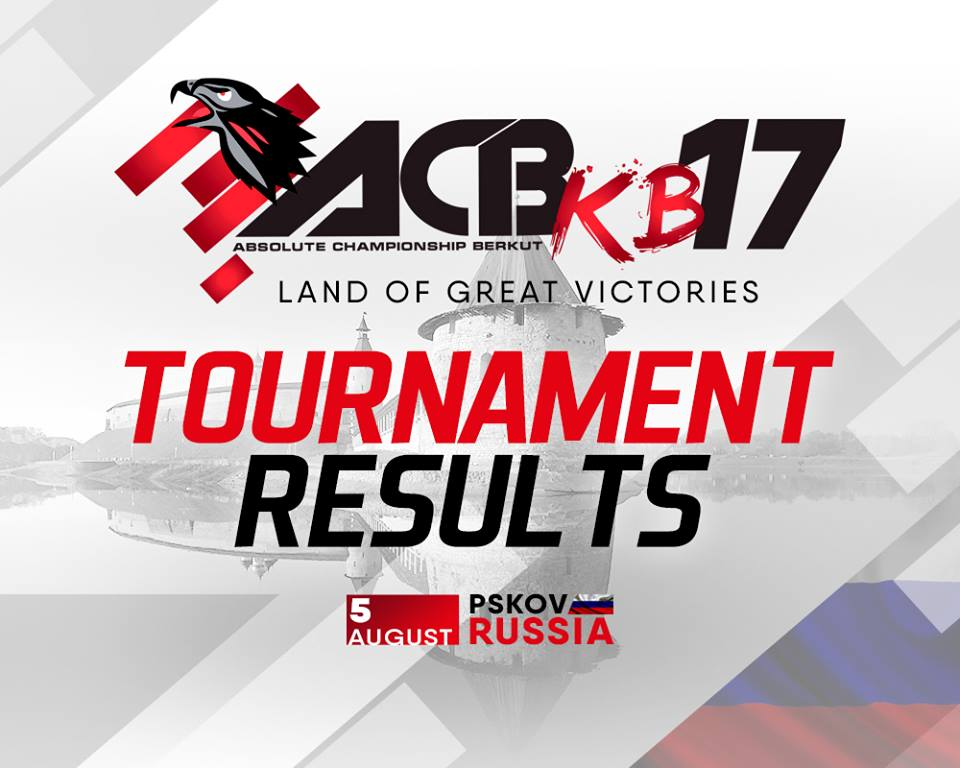 ACB KB-17 - Fight Results