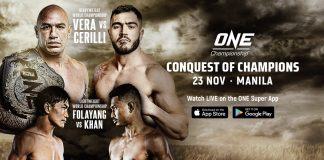 ONE Championship Conquest Of Champions