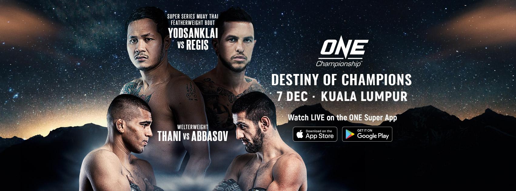 ONE Championship: Destiny of Champions - December 7 (Official Discussion)  16-ONE-Championship-Destiny-Of-Champions-Promo-1