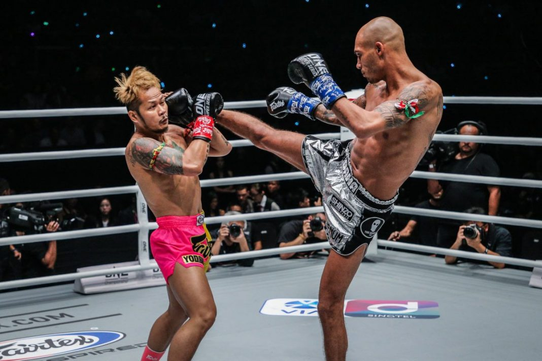 ONE Championship: Enter The Dragon results