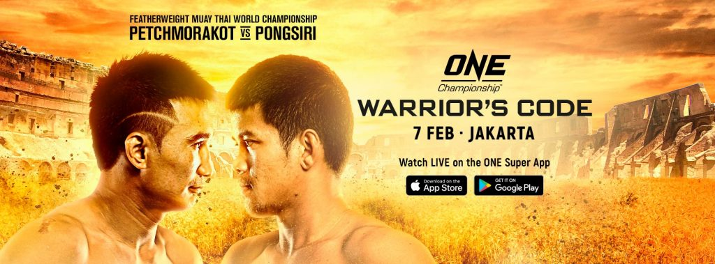 ONE Championship: Warrior's Code